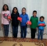 Mazıdağı'nda Çocuklar 23 Nisanı Evlerinde Kutladı