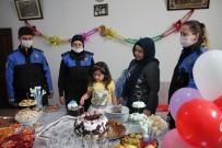 Midyat Polisinden 2 Çocuğa Doğum Günü Sürprizi