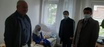 Vali Aktaş, 100 Yaşındaki Kiraz Nineyi Ziyaret Etti