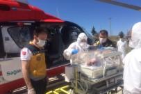 Yeni Doğan Bebek İçin Ambulans Helikopter Havalandı