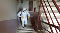 Kaynaşlı'da, TOKİ Ve Kalıcı Konutlarda Dezenfekte Edildi