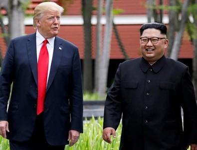 ABD Başkanı Donald Trump'tan Kim Jong-un açıklaması...