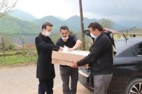 Cide'de Köylerin Dezenfektan Ve Maske İhtiyaçları Karşılanıyor