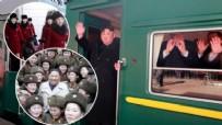 KÜÇÜK KIZ - İşte Kim'in zevk treni... Lüks lezzetler, harem ve eğlence...