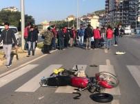 ALAADDIN KEYKUBAT - Alanya'da Kazada Ağır Yaralanan Kişi Kurtarılamadı