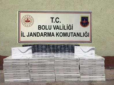 Bolu'da, Kaçak Tütün Ve Cerrahi Maske Operasyonu