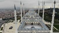 ÇAMLıCA - Bu Cuma Namazında Da Boş Kalan Çamlıca Camisi Havadan Görüntülendi