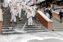 ÇANKAYA BELEDIYESI - Çankaya'da Farklı Noktalarda Dezenfektan Hizmeti
