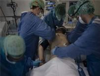 KATALONYA - Corona hastanesinden tüyler ürperten görüntüler!