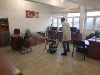 DENETİMLİ SERBESTLİK - Iğdır Adliyesi'nde Korona Virüs Tedbirleri