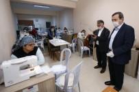 HALK EĞİTİM MERKEZİ - Konak Belediyesi Maske Üretimine Başladı