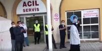 MUSTAFA YAMAN - Mardin'de Korona Virüs Tedavisi Tamamlanan Kadın Alkışlarla Taburcu Edildi