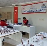 Mazıdağı Gençlik Merkezinde Yüz Korucuyu Siper Üretimine Başlandı
