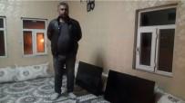 Mazıdağı'nda Evin Damına Yıldırım Düştü