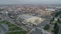 ATATÜRK BULVARI - Sakarya'da Boş Kalan Cadde Ve Sokaklar Havadan Görüntülendi