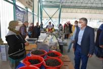 Başkan Bozkurt'tan Pazarcı Esnafı Ziyareti