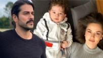 FAHRİYE EVCEN - Burak Özçivit ve oğlunun Kuruluş Osman keyfi...