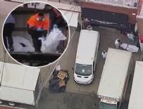 SUÇ DUYURUSU - Cenaze evinin önündeki kamyonlardan 100 tane çürümüş ceset çıktı!
