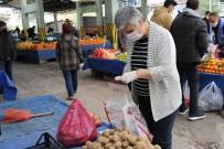 PAZAR ESNAFI - Ankara Pazarlarında Korona Virüs Tedbirleri Etkili Oldu