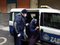 CAFER YıLMAZ - Büyükşehir Zabıta Evde Kalan Yaşlıları Unutmadı