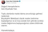DİYARBAKIR VALİSİ - Diyarbakır'da Vatandaşlara Maskeler Ücretsiz Dağıtılacak