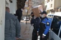 ŞEHİT AİLELERİ - Hakkari'de İhtiyaç Sahiplerine Yardımlar Sürüyor