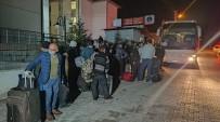 BAĞDAT - Irak'tan Getirilen 334 Türk İşçi Kütahya'daki Yurtlara Yerleştirildi
