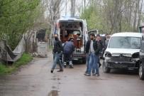 AĞIR YARALI - İş Yerine Silahla Gelen Husumetlisini Pompalı Tüfekle Öldürdü