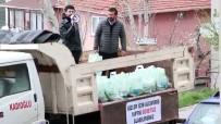 İBRAHIM YıLMAZ - Korona Virüsünden Etkilenen Yaşlılar İçin Kamyonla Erzak Dağıttılar