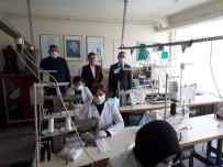 NİLÜFER - Liseli Öğrencilerden Maske Üretimi