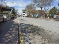 KıŞLA - Malatya'da Ana Caddeler Boş Kaldı