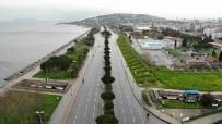 HAYALET - Anadolu Yakası Sahil Şeridi Boş Kaldı