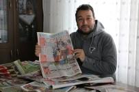 BELGESEL - Biriktirdiği Gazete Küpürlerinden 'Karabükspor' Belgeseli Duygulandırdı