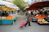 BUCA BELEDİYESİ - Buca Pazarlarında OHAL Açıklaması İçerde Ve Dışarda Covid-19 Önlemleri!