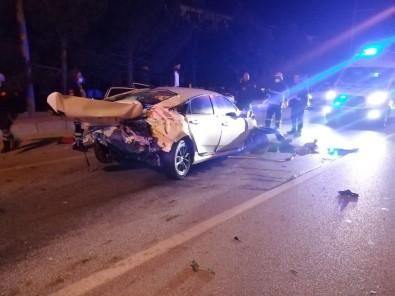Burdur-Antalya Çevreyolunda Kaza Açıklaması 1 Ölü, 1 Yaralı