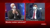 FıRAT ÜNIVERSITESI - Elazığ'da Televizyon Programını Maske Takıp Yaptılar
