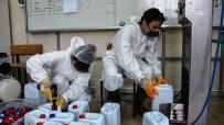 ÇAMAŞIR SUYU - Günde 10 Ton Dezenfektan Üretiliyor