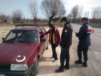Kastamonu'da Yasağa Uymayan Yaşlılara Ceza Kesildi
