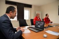 VALİ YARDIMCISI - Sağlık Çalışanlarına Video Konferansla Moral Verildi