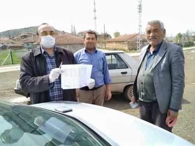 Uğurludağ'da 65 Yaş Üstü Vatandaşlara Evlerinde Maaş Ödemesi