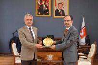 MAHKEME BAŞKANI - Ağır Ceza Mahkeme Başkanı Ve Bilecik Cumhuriyet Başsavcısından Rektöre Ziyaret