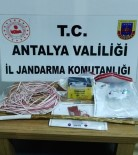 BELDIBI - Alanya'da Sit Alanında Kaçak Kazı Yapan 4 Şüpheli Suçüstü Yakalandı