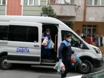 PAZARCI - Bağcılar'da Pazarcılardan Evlere Servis Hizmeti
