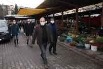PAZARCI - Başkan Bozkurt'tan Pazar Alanında Denetim