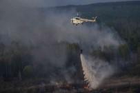 İTFAİYE ARACI - Çernobil'de Orman Yangını Radyasyon Seviyesini 16 Kat Arttırdı