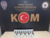 KAÇAK ALKOL - Denizli'de Kaçak Dezenfektan Ve Elektronik Eşya Operasyonu