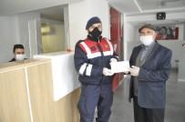 ZIRAAT BANKASı - Emekli Maaşının Hepsini ''Biz Bize Yeteriz Türkiye'm'' Kampanyasına Bağışladı