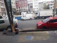 ŞİDDETLİ FIRTINA - Fırtına Ağacı Ortadan İkiye Ayırdı