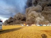 FLORIDA - Florida'da 3 Bin 500 Araç Alev Alev Yandı