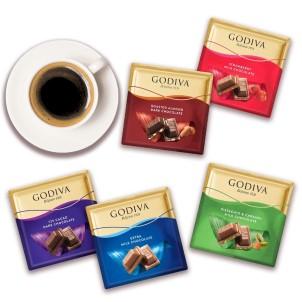 Godiva'dan Yeni Kare Çikolatalar